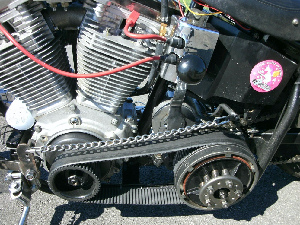 Why things are: belts, chains and chopper drivetrains - RevZilla