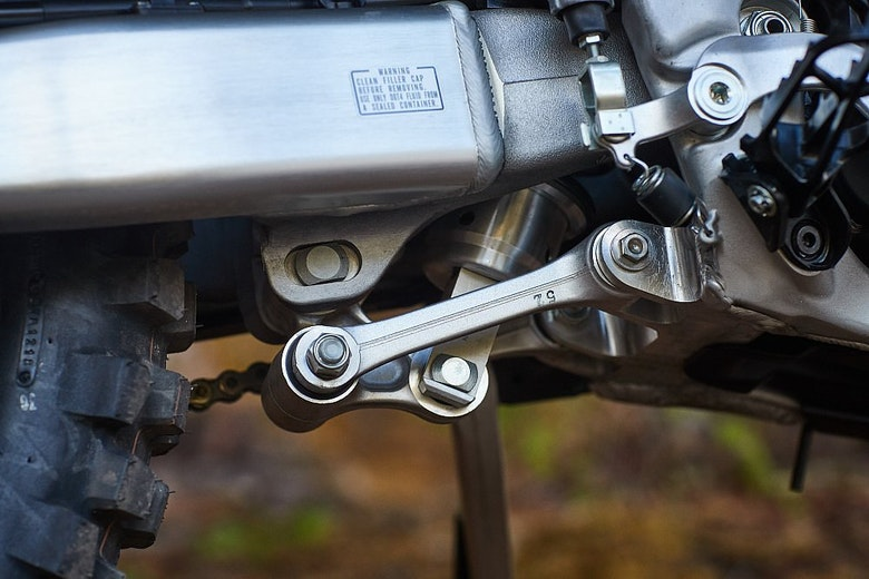 CRF450L linkage