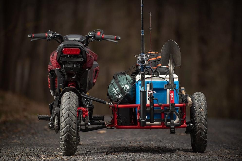 Meet GUS, the Grom Utility Sidecar - RevZilla