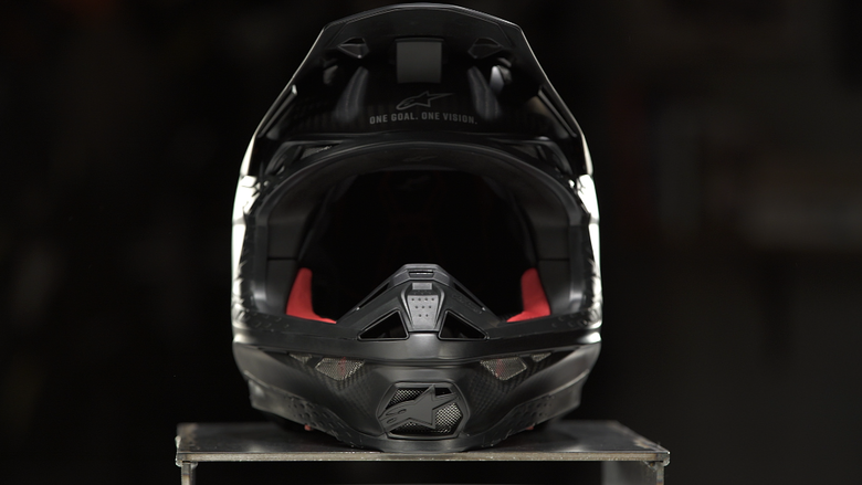 dirt or off-road helmet