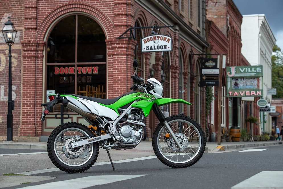 2020 Kawasaki KLX230 first ride review - RevZilla