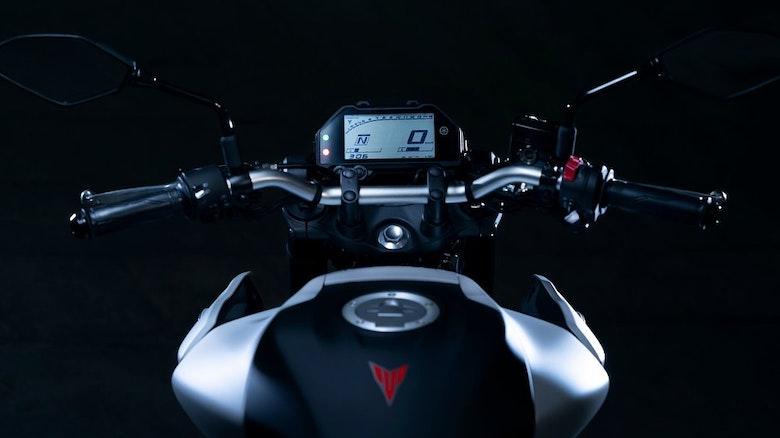 2020 Yamaha MT-03 digital display